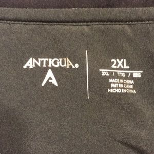 Antigua Shirts - Nashville Predator's Mens Antigua 1/2 zip pullover